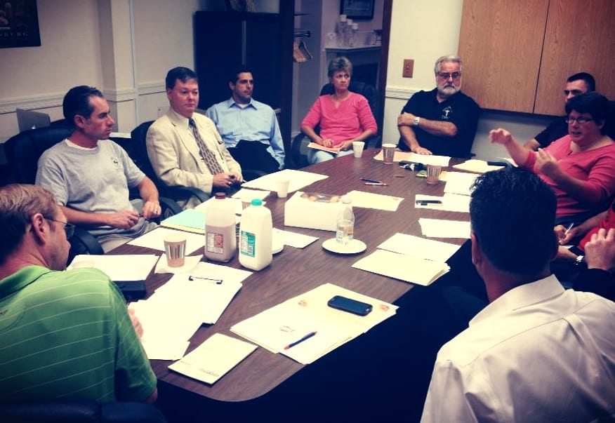 Your CFoP board hard at work at a board meeting in Harrisburg! Who do you know in PA that should be a member?